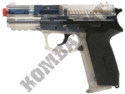 SP2022 Sig Sauer CO2 Gas Powered Airsoft BB Hand Gun Black and Clear